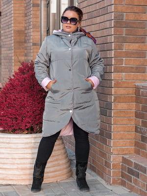 Куртка сіро-рожева   5574013