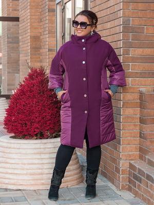 Пальто бордове | 5574016