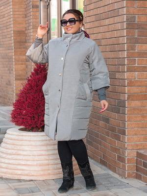 Пальто сіре   5574017