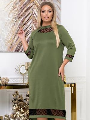 Платье цвета хаки | 5574132