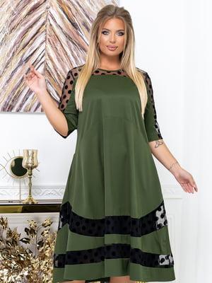 Платье цвета хаки | 5574141