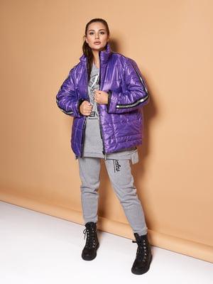 Куртка фіолетова | 5574078