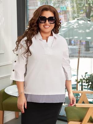 Блуза біла | 5574378