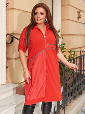 Платье красное   5574414
