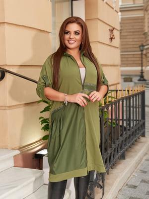 Платье цвета хаки | 5574415