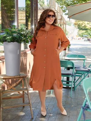 Сукня цегляного кольору | 5574417