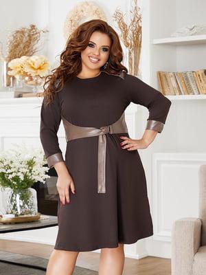 Сукня коричнева | 5574429