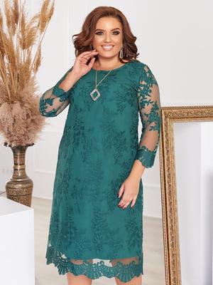 Сукня темно-зелена | 5574455