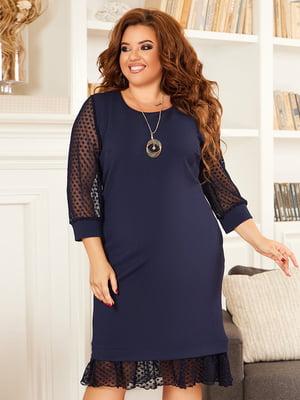 Сукня темно-синя | 5574471