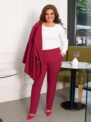 Костюм: блуза, жакет і штани   5574497