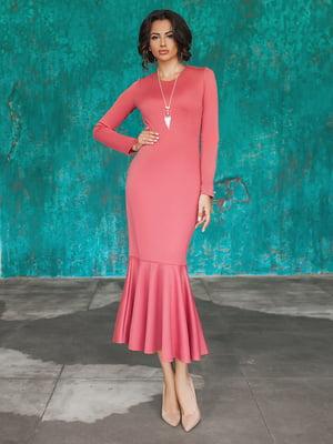 Сукня коралового кольору | 5574659