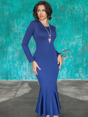 Сукня темно-синя | 5574660