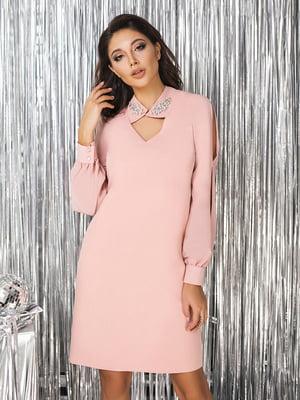 Сукня пудрового кольору  | 5574678