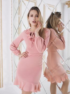 Сукня пудрового кольору  | 5574696