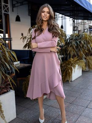 Платье сиреневого цвета | 5574719