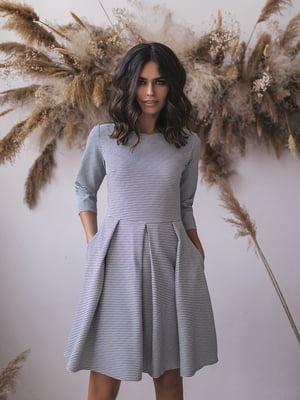 Сукня сіра у принт   5574724