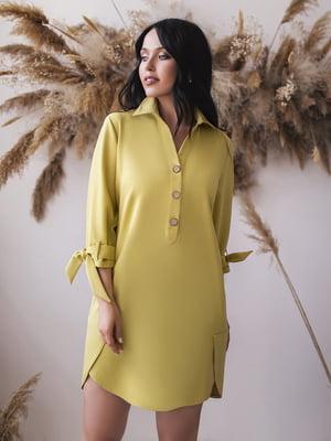 Сукня гірчичного кольору | 5574733