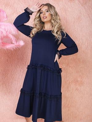 Сукня темно-синя | 5574743