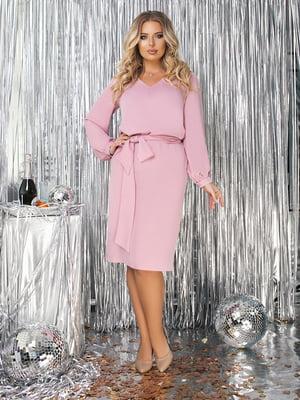 Сукня пудрового кольору  | 5574758