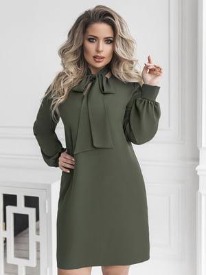 Сукня кольору хакі   5574777