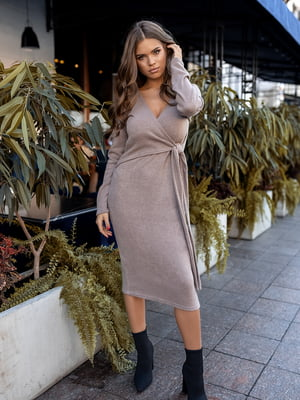 Сукня кавового кольору | 5574844