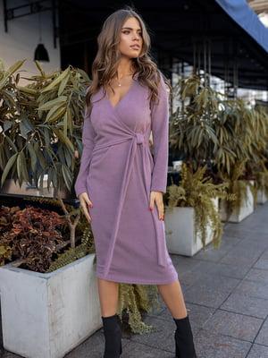 Платье сиреневого цвета | 5574847