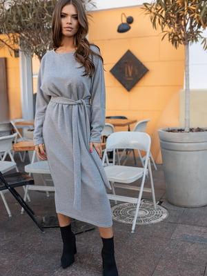 Сукня сіра   5574857