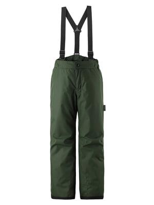 Брюки горнолыжные зеленые | 5575447