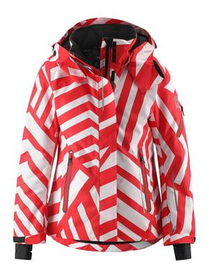 Куртка горнолыжная в полоску | 5575532