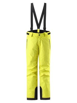 Брюки горнолыжные желтые | 5575553