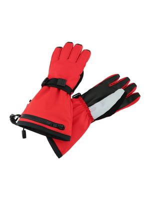 Перчатки горнолыжные красные | 5575609