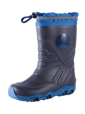 Сапоги резиновые синие | 5575625