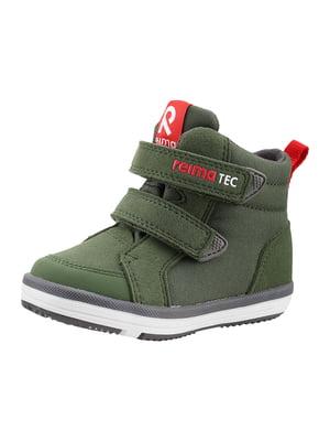 Ботинки цвета хаки | 5575670