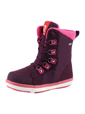 Ботинки бордовые | 5575672