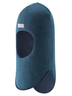 Шапка-шлем синяя | 5575707
