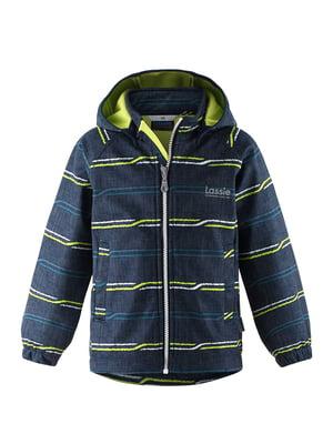 Куртка синя в смужку | 5575735