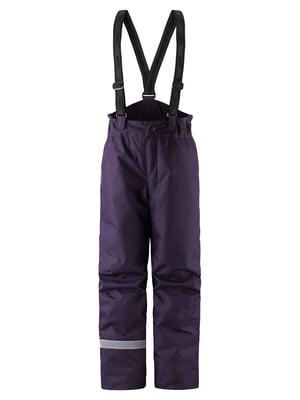 Брюки фиолетовые | 5575741