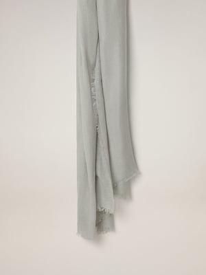 Шарф серый | 5508296