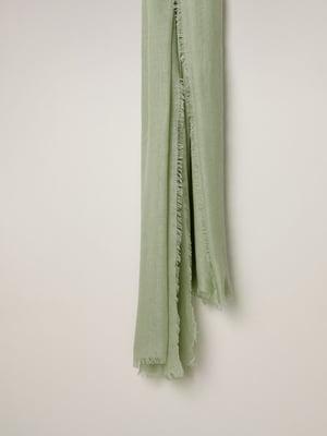 Шарф серо-зеленый | 5508297