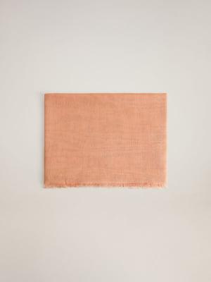 Шарф персикового кольору | 5508298