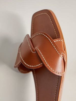 Шлепанцы коричневые | 5508331