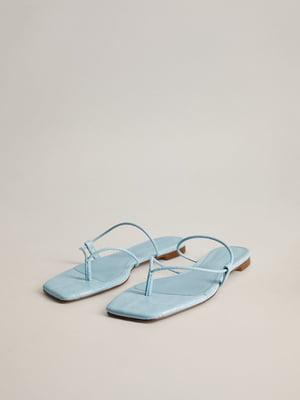 Сандалі блакитні | 5508352