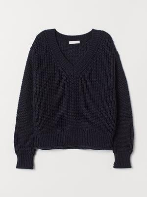 Пуловер синій | 5527430