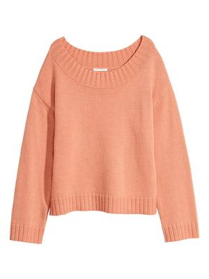 Джемпер персикового кольору | 5551682