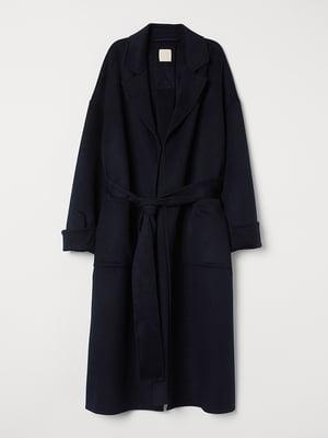 Пальто синє | 5551995