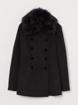Пальто чорне | 5552010