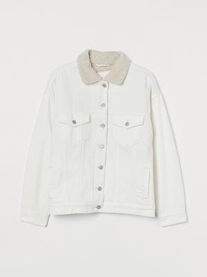 Куртка-жакет кремового кольору | 5552144