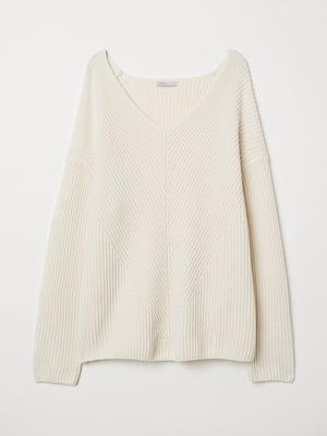 Пуловер молочного цвета | 5552183