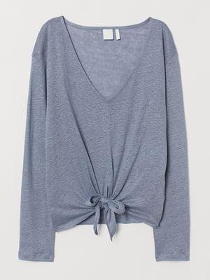 Пуловер сизого цвета | 5576507