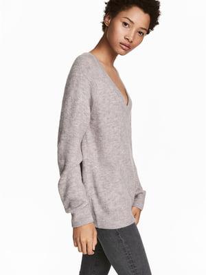 Пуловер сірий | 5576610